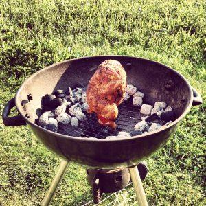 Rezept - Huhn auf Bierdose