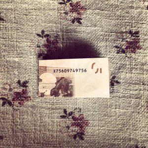Herz aus Geldschein falten - Geldgeschenk