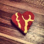 3D Herz aus Papier