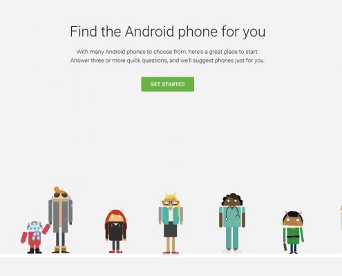 Android Which Phone von Google