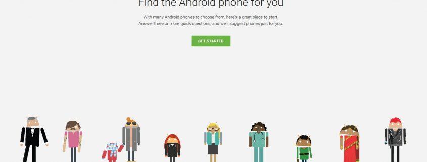 Android Which Phone von Google