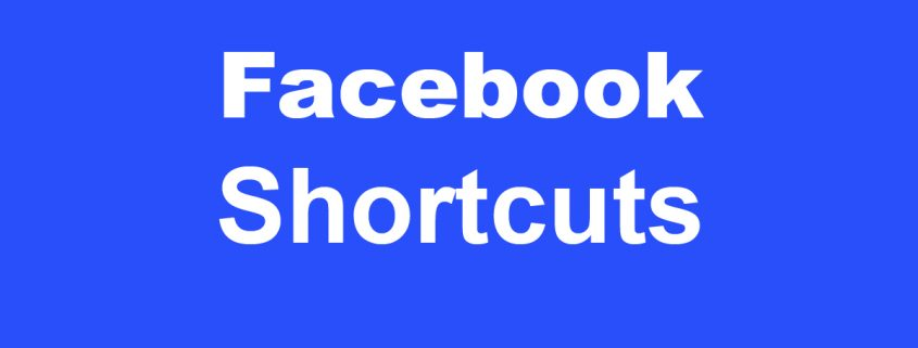 Facebook Shortcuts - Tastenkombinationen