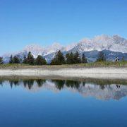 Bergsee Wilder Kaiser Spiegelbild