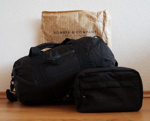 Bomber Barrel Tasche