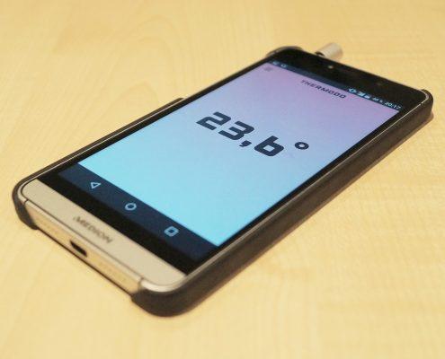 Thermodo - Thermometer fürs Smartphone
