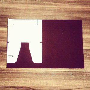 selbstgemachte Geldtasche - Wallet