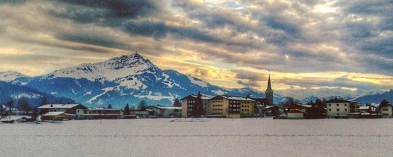 Wolkenstimmung in Kirchdorf in Tirol