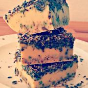 Lavendelseife - Seife selbstgemacht