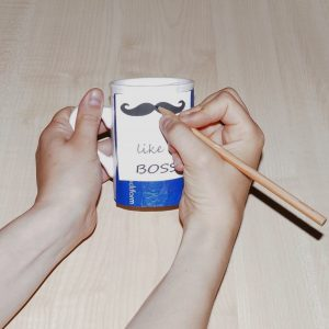 Porzellan Tassen bemalen - Ideen