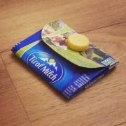 Tetrapak Geldtasche falten