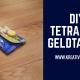 Geldtasche aus Tetrapack falten