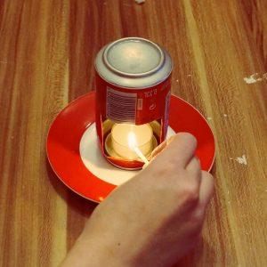 DIY Duftlampe aus Dose
