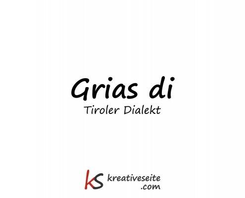 Tiroler Dialekt
