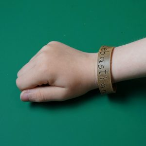 DIY Leder Armband