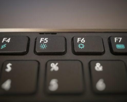 Funktionen der F-Tasten