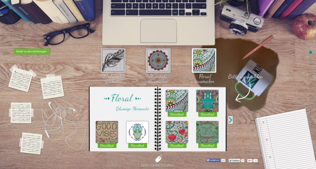 Kreative Ausmalbilder Für Erwachsene Kreativ Blog Diy