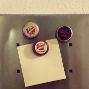 Magnete aus Bierkapseln - Upcycling