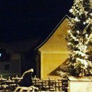 Neuschnee im Dezember in Kirchdorf