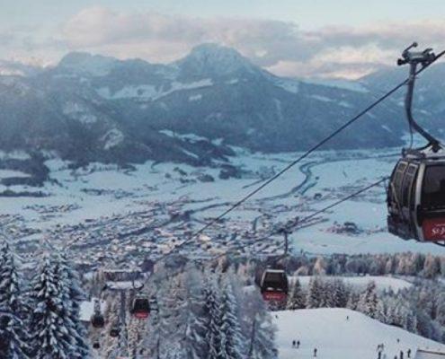 Skistar St. Johann in Tirol Gondel