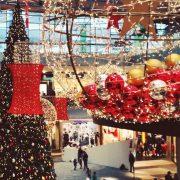 Weihnachten - Deko im Kaufhaus