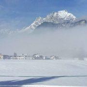 Wilder Kaiser im Winter in St. Johann