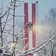 Wintereinbruch in Kirchdorf in Tirol