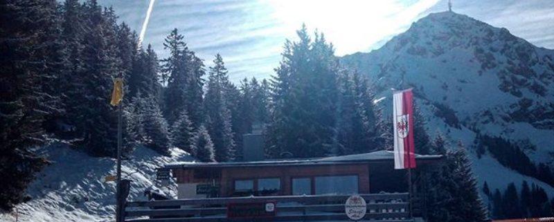 Winterliche Stanglalm in Oberndorf
