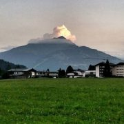 Wolken am Kitzbüheler Horn