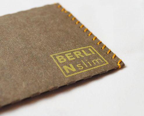 Berlin slim Wallet – Geldtasche aus veganem Leder