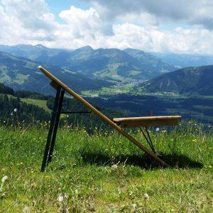 Biertisch Liegestuhl