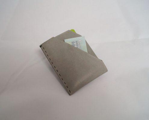 DIY Geldtasche aus Leder