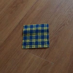 DIY Geldtasche aus Butterpapier