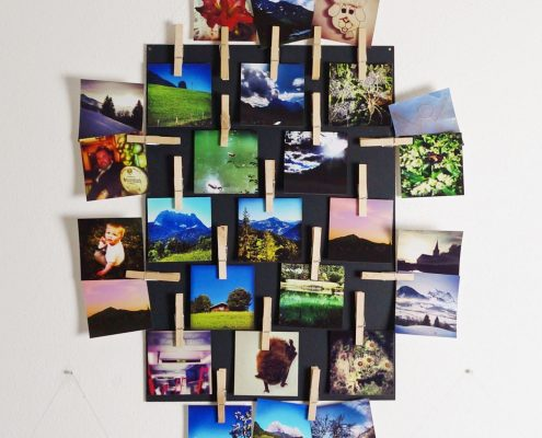 Instagram Bilder als Wanddeko