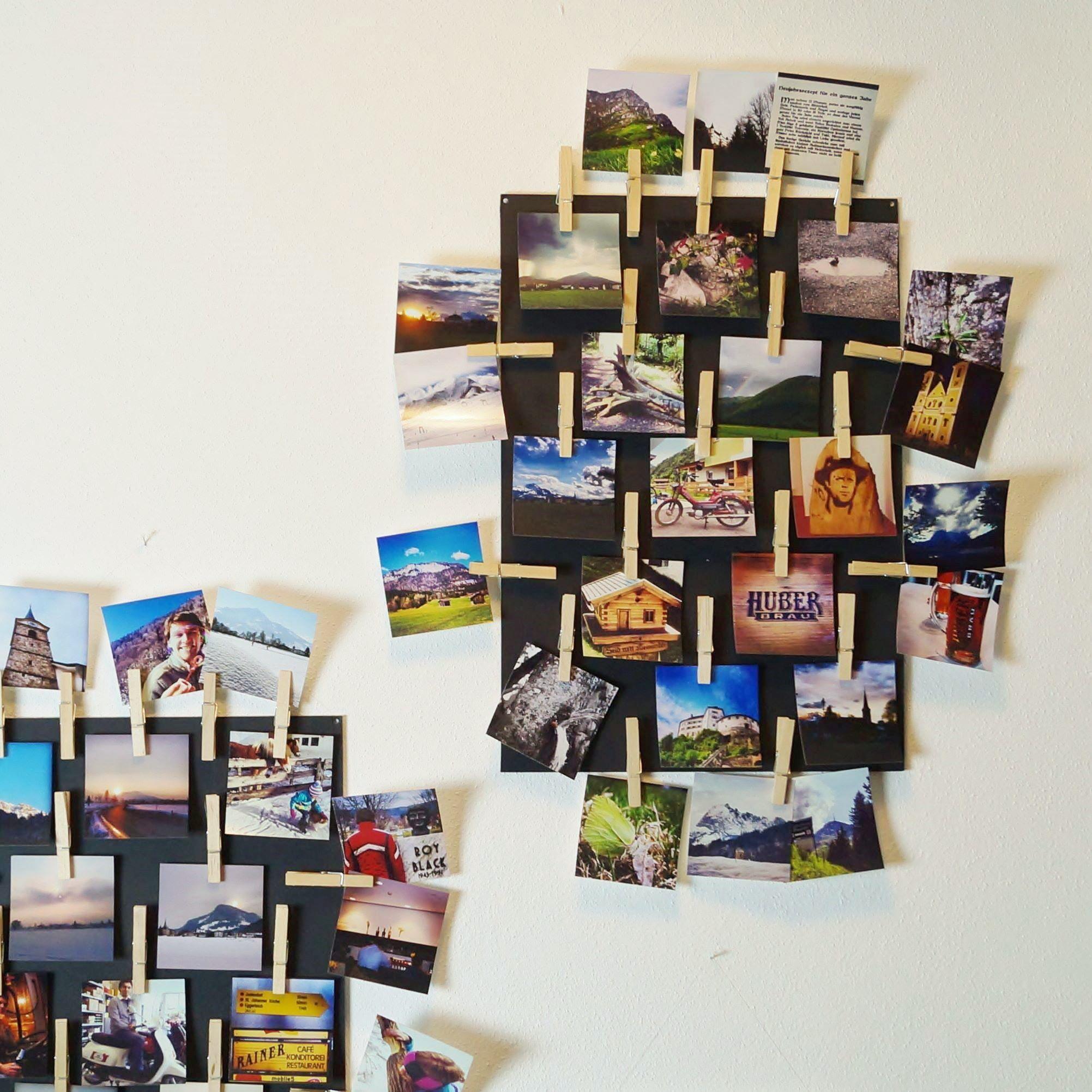 instagram fotos als wanddeko kreativ blog diy gadgets. Black Bedroom Furniture Sets. Home Design Ideas