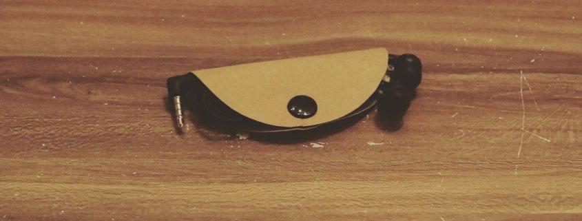 DIY Kopfhörer Tasche