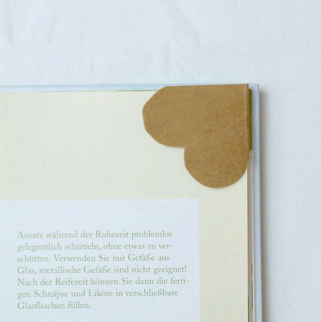 Herz Lesezeichen aus SnapPap • Kreativ Blog - DIY & Gadgets