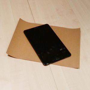 DIY Tablet Tasche