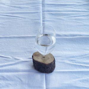 DIY Vase aus kaputtem Weinglas – Upcycling