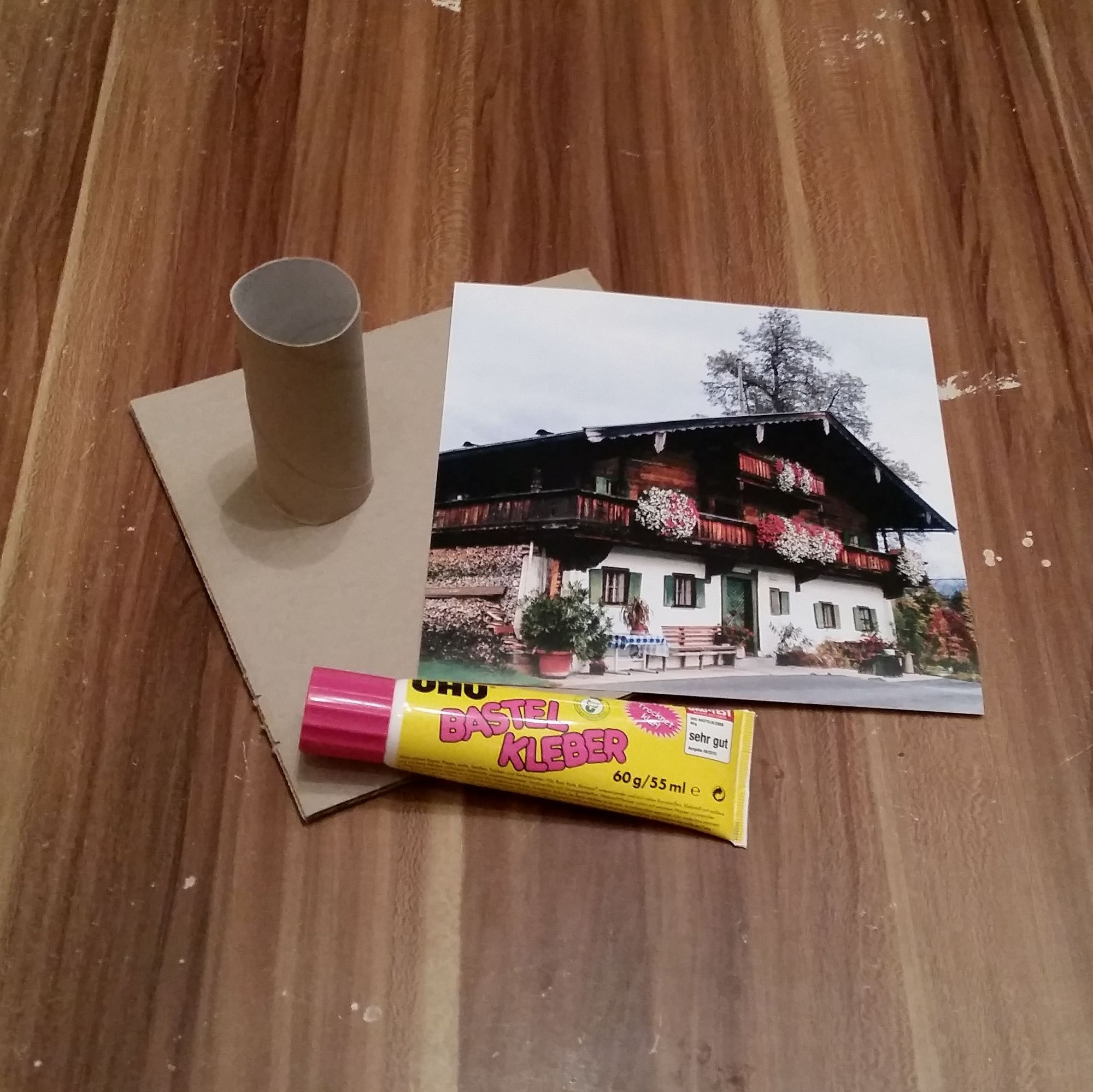 DIY Bilderrahmen aus Karton – Bildaufsteller • Kreativ Blog - DIY ...