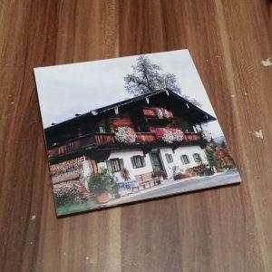 DIY Bilderrahmen aus Karton