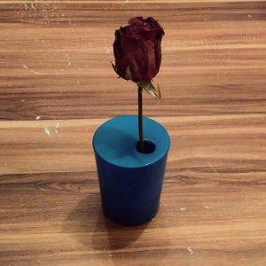 Vase aus einem Luftballon