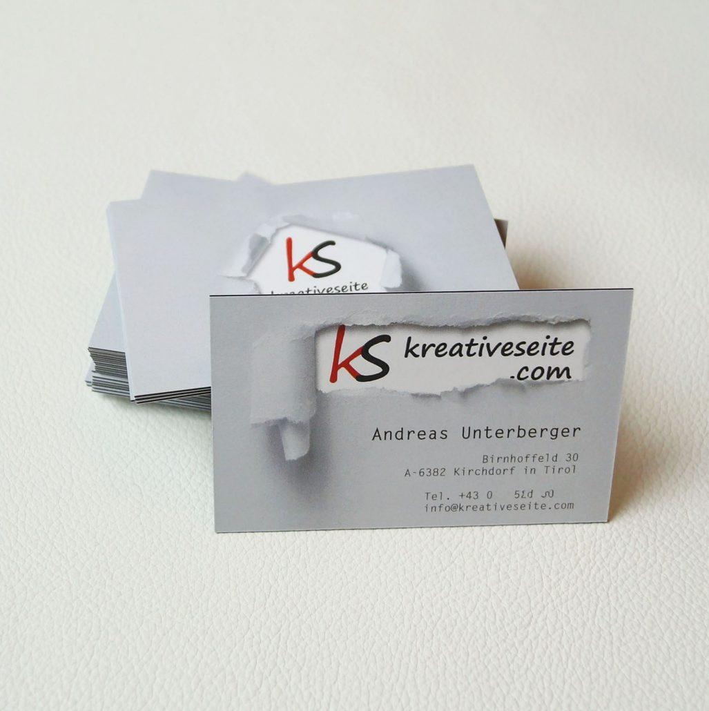 Visitenkarten Gut Und Günstig Bei Print24 Kreativ Blog