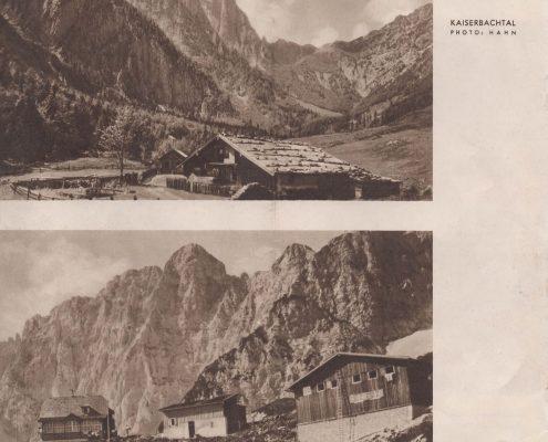 Tourismus Prospekt St. Johann in Tirol von 1939