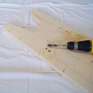 Steckstuhl aus Holz – Wikingerstuhl