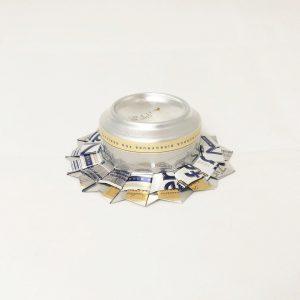 Teelichthalter aus Bierdose