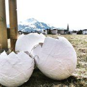 DIY Osterei aus Gips – Osternest selbstgemacht