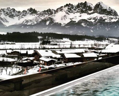 Infinity Pool im Penzinghof in Oberndorf in Tirol