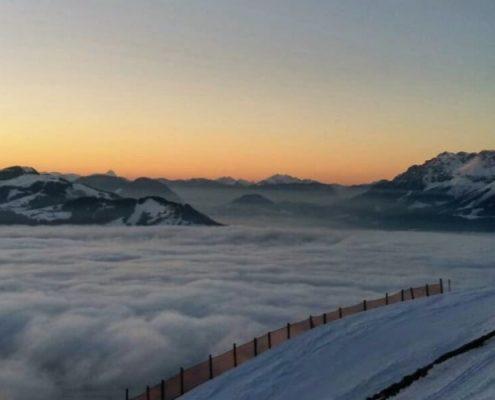 Wolkenmeer Oberndorf in Tirol