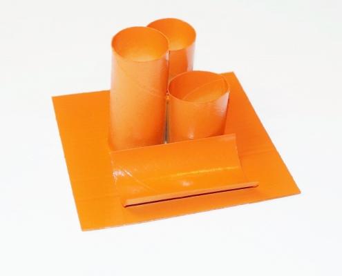 DIY Stiftehalter aus Toilettenpapierrollen