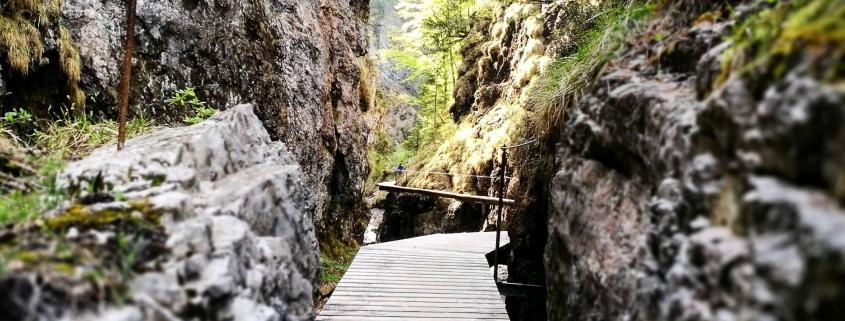 Grießbachklamm in Erpfendorf in Tirol